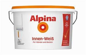 Wandfarbe Weiß Günstig : alpina wandfarbe innenfarbe innen wei der preiskracher besonders g nstig ~ A.2002-acura-tl-radio.info Haus und Dekorationen