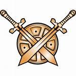 Shield Swords Icon Favicon