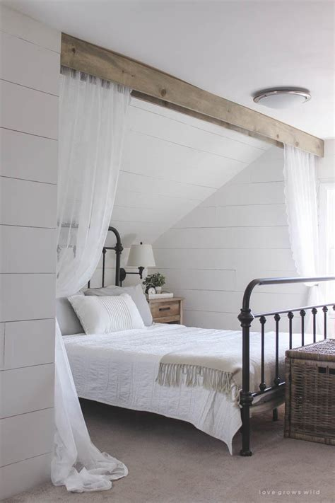 wood beam  lace canopy curtains diyideacentercom