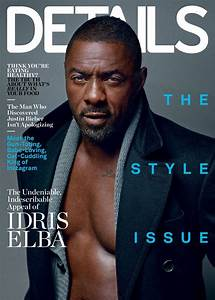 Shirtless Idris Elba Sizzles In Details MagazineSee All