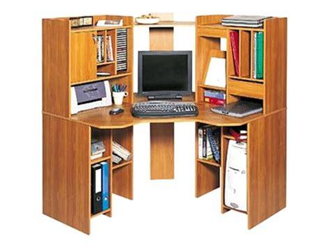 Meuble D Angle Informatique meuble informatique d angle bureau pin eyebuy