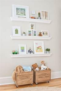 25 best ideas about nursery shelving on pinterest for Kitchen cabinets lowes with nursery room wall art