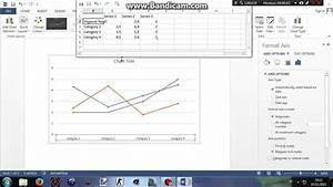 Cara Membuat Diagram Garis Pd Microsoft Word