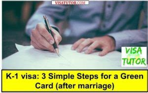 The orange county green card attorneys at yekrangi & associates explain the process and waiting period to receive a green card after getting. K-1 visa: 3 Simple Steps for a Green Card (after marriage ...