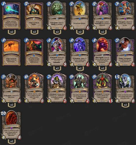 Warlock Murloc Deck Tgt by Deck Handlock Tgt Hearthstone Heroes Of Warcraft
