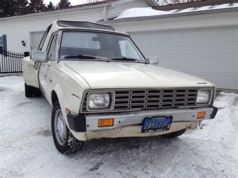 Purchase Used 1981 Plymouth Arrow Pickup Base Standard Cab