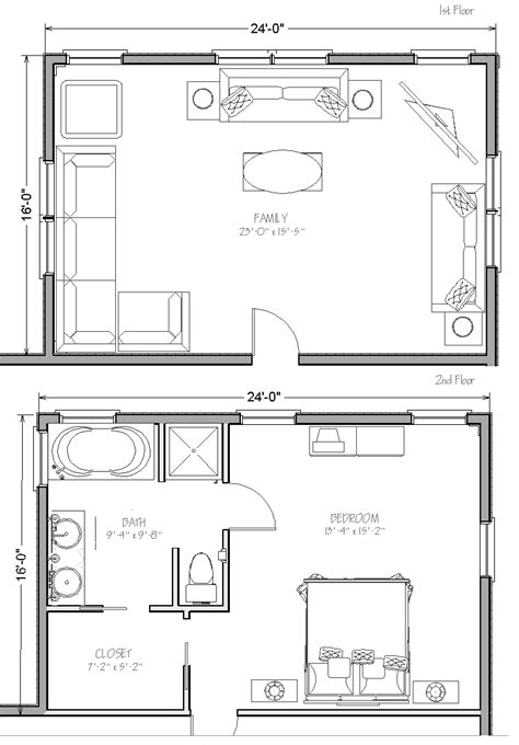 2 floor plans with garage inspiring garage addition plans 2 photo on