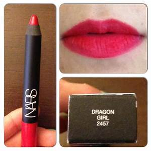 SEPHORA HAUL… NARS VELVET MATTE LIP PENCIL IN DRAGON GIRL ...