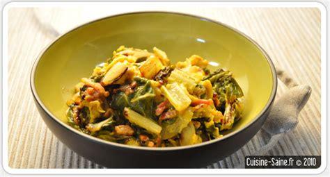 la cuisine sans gluten recette bio rapide omelette aux blettes cuisine saine