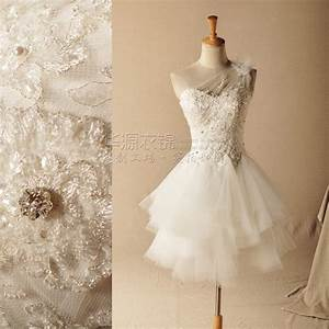 gardenia luxury hand beaded diamond oblique shoulder With hand beaded wedding dresses