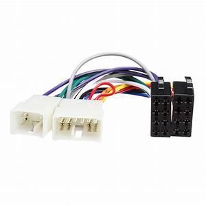 Iso Wiring Harness Stereo Radio Plug Lead Wire Loom
