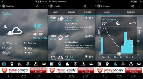 android weather app 1weather the definitive weather app for android