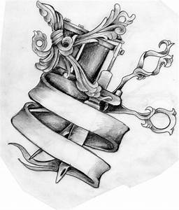Scissors and Tattoo Machine tattoo design by Mustang-Inky ...