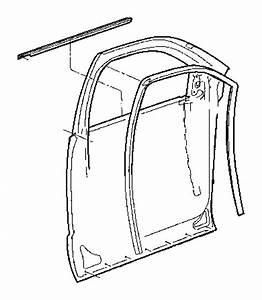 2008 Dodge Ram 3500 Weatherstrip  Door Belt  Right  Weatherstrips  Cab  Front