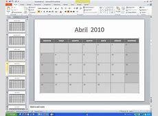 Crie calendários com o PowerPoint TecMundo