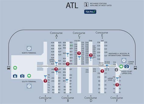 ambitious and combative atlanta airport map