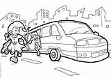 Limousine Coloring Pages Template sketch template