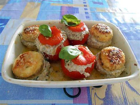 recette de cuisine vegetarienne recette de champignons et tomates farcies recette