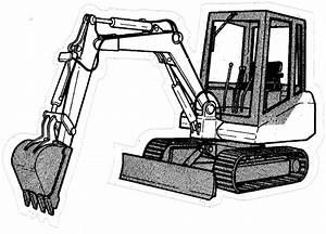 Bobcat 116 Hydraulic Excavator Factory Service  U0026 Shop