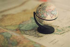 adventure, globe, map, travel, world - image #119350 on ...
