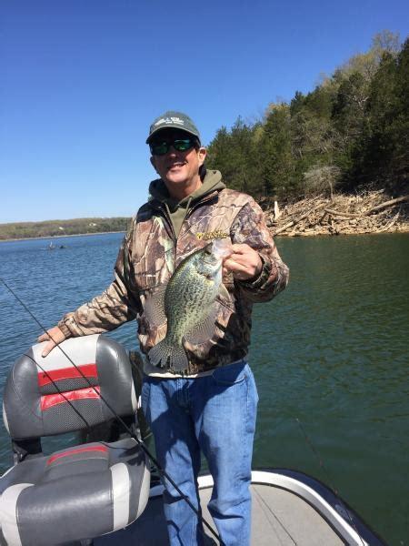 table rock lake crappie fishing report crappie on the banks table rock lake ozarkanglers com