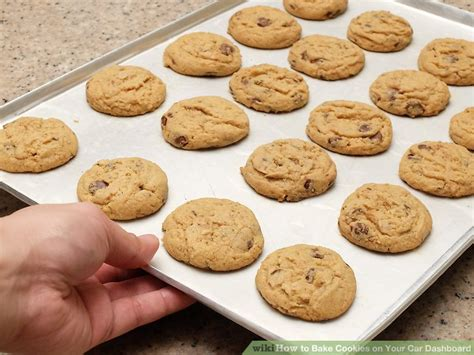 how to bake how to bake cookies on your car dashboard 11 steps