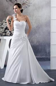 white inexpensive wedding dress unique flower formal full With inexpensive unique wedding dresses