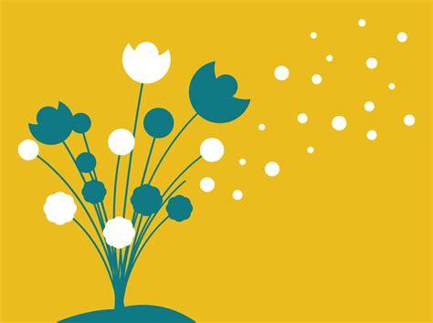 flowers silhouette vector vector art graphics