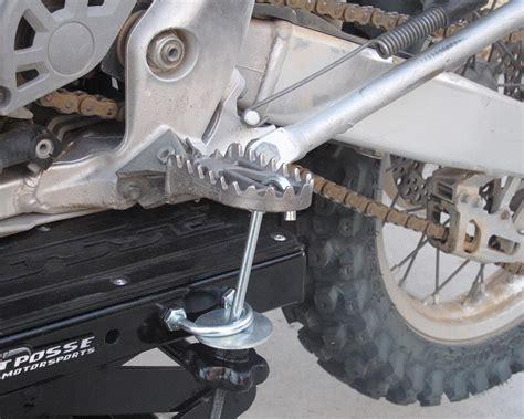 Pit Scissor Lift Stand Dirt Bike Test
