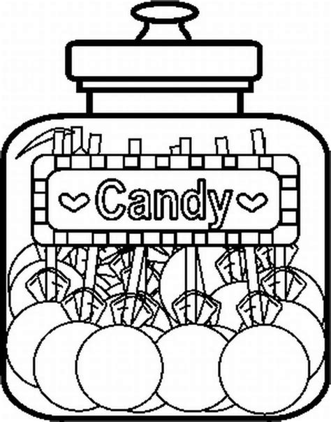 candy coloring pages bestofcoloringcom