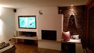 Wohnzimmer Wand Holz Beleuchtet 640x360 BS Holzdesign