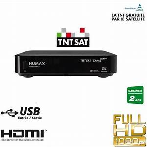 Decodeur Tnt Hd Satellite Sans Carte : humax tn8000hd r cepteur satellite tntsat hd vendu sans ~ Dailycaller-alerts.com Idées de Décoration