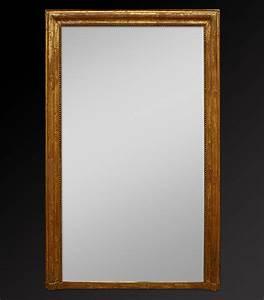 Miroir Doré Ancien : grand miroir chemin e ancien ~ Teatrodelosmanantiales.com Idées de Décoration