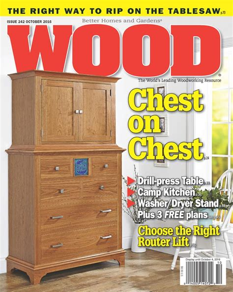 wood issue  october  woodworking plan  wood magazine