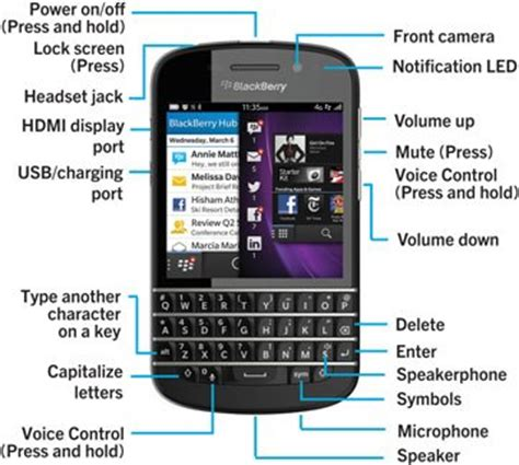 how to set up a blackberry q10 smartphone inside blackberry help