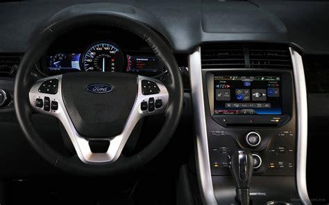 2018 Ford Edge Sport Interior Wallpaper Hd Car Wallpapers