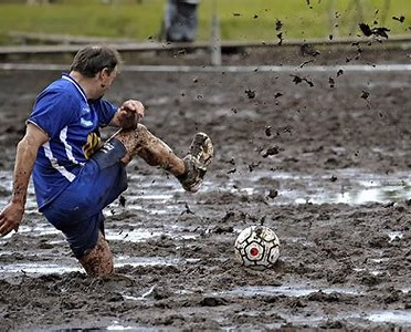 Image result for Muddy Football pitch