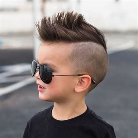 Mohawk Hairstyles For Boys by 35 Toddler Boy Haircuts 2019 Guide S