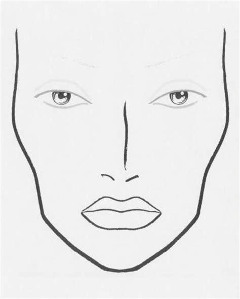 images  face charts  pinterest fashion