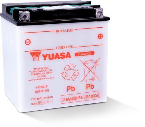 b batterie yb30l b yuasa battery inc