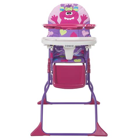 cosco simple fold deluxe high chair shelley high