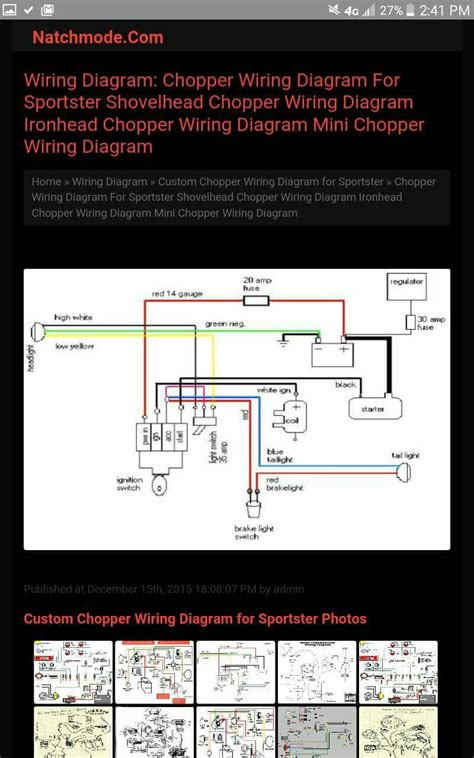 Simple Wiring Diagram For Aporty Chopper The