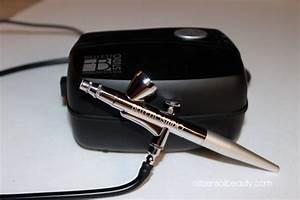 Airbrush Cosmetics Makeup Foundation Kit amp Machine