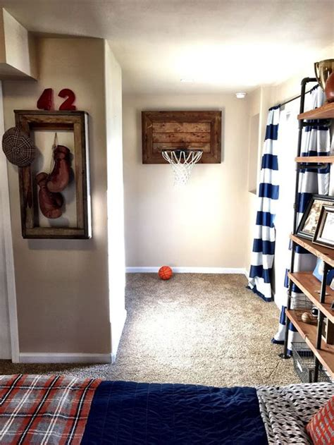 Decorating Ideas For Sports Bedroom by 20 Vintage Sport Decorations For Cave House Design