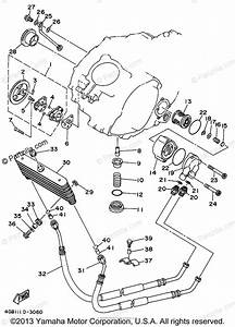 Yamaha Atv 1994 Oem Parts Diagram For Oil Pump