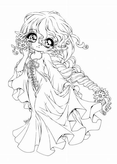 Coloring Chibi Pages