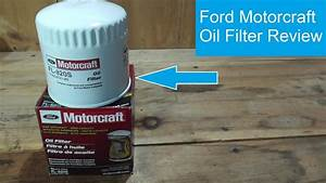 Ford Motorcraft Oil Filter Review