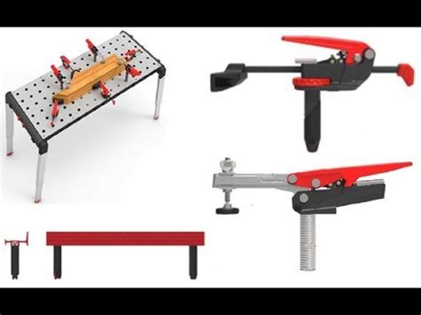 sears craftsman portable peg clamping workbench table