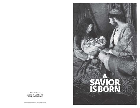 lds christmas program asaviorisborn lds program bw lds365 resources from lds church mormons worldwide