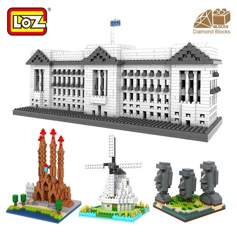 Loz Blocks Architecture Toy For Kid Building Bricks City